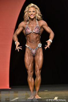 Danielle Reardon - Women's Physique - 2015 Olympia