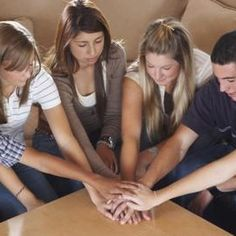 Games at youth group helps make church fun for teens.