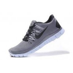 Nike Free 5.0+ Herresko Grå Svart   Nike sko tilbud   billige Nike sko på nett   Nike sko nettbutikk norge   ovostore.com