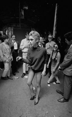 Edie Sedgwick - ladies you owe leggings to this fabulous style icon. She was the queen of not wearing pants