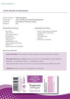 - Dermatitis - Anti-acnéico - Afecciones cutáneas - Desodorante - Cabellos grasos - Cutis grasos - Equilibrador general - ...