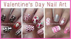 Valentine's Day nail art ideas!