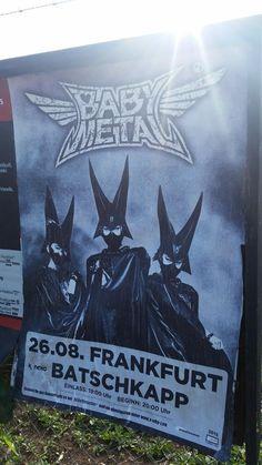 BABYMETAL WORLD TOUR 2015 Frankfurt Germany 26 August 2015