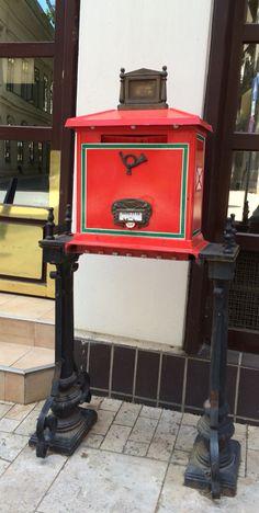 Hungarian mailbox.