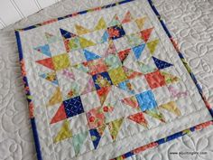 Introducing the Summer Star Mini Quilt
