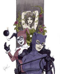 Gotham City Sirens by Lynne Yoshii