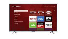 awesome TCL 55US5800 55-Inch 4K Ultra HD Roku Smart LED TV (2016 Model)