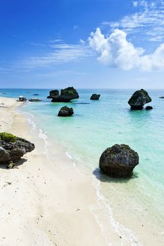 Mirabu Beach / Okinawa Coast, Japan