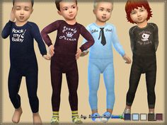 The Sims Resource: Jumpsuit My Baby by bukovka • Sims 4 Downloads