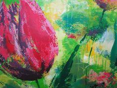 Kirsten Ørgaard - tulipan - så smukt! Tulip by Kirsten Ørgaard