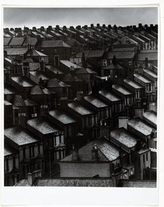 Bill Brandt  'Sky lightens over the suburbs, London'  1934