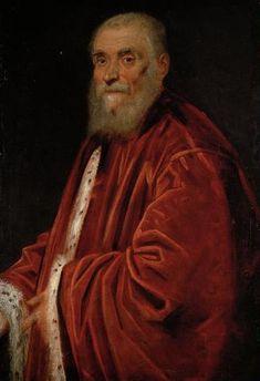 Retrato de senador Marco Grimani, 1576-1583 - Tintoretto
