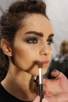 Fall 2014 Beauty: Top Marks - Beauty at Nicole Miller RTW Fall 2014