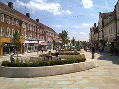 Letchworth Garden City, where I now live.