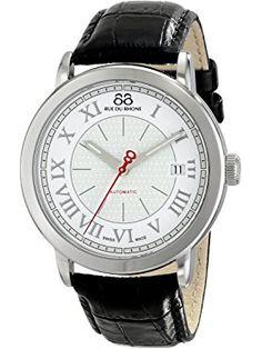 88 Rue du Rhone Men's 87WA120033 Analog Display Swiss Automatic Silver Watch ❤ 88 Rue du Rhone Swiss Made Watches, Rhone, Men, Guys