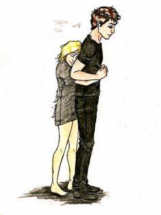 Tris and Tobias  -Divergent