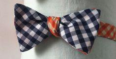 Black and Dark Blue Bow Tie by Phi Ties