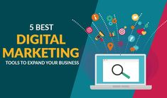 Want to grow your business online but don't know which strategies you should adopt? Check out the best digital marketing tools which help you to expand your and grow your online presence. Marketing Tools, Digital Marketing, Digital Web, Seo Tools, Seo Services, Growing Your Business, Software Development, Mobile App, Online Business