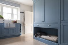 Boot Room Utility, Utility Cupboard, Built In Dog Bed, Country Hallway, Laundry Room Inspiration, Interior Inspiration, Design Inspiration, Hallway Shoe Storage, Utility Room Designs