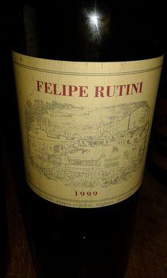 Felipe Rutini 1999. Valle de Uco. Mendoza. Le Gula. Rosario. Argentina