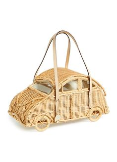 Kate Spade Wicker Car Satchel