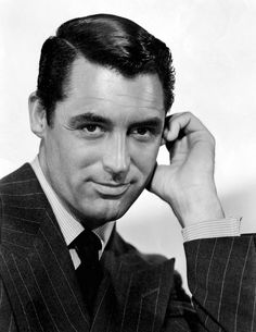 Now You Know Why They Call This A Pin Stripe. Cary Grant.