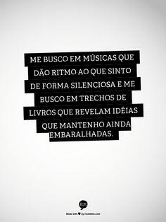 me busco em músicas