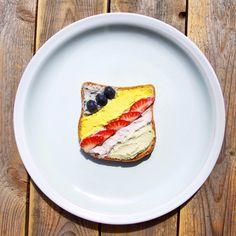 Unicorn Toast - The Vegan version - Messy Veggies