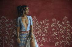 Ariadne, a Minoan Princess. Greek History, Ancient History, European History, Ancient Aliens, American History, Minoan Art, Bronze Age Civilization, Atlantis, Mycenaean