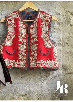 Jacket style .# club whit dhoti or draped trouser # Indian fashion # Jayanti reddy