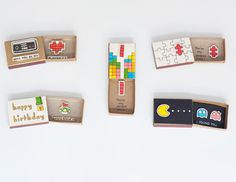 DIY Matchbox art - surprise-messages-hidden-in-little-matchboxes-that-would-bring-a-smile-to-your-face Matchbox Crafts, Matchbox Art, Love Birthday Cards, Diy Birthday, Tarjetas Diy, Cheer Up Gifts, Best Friend Gifts, Diy Cards, Boyfriend Gifts