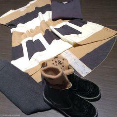 Kids fashion look in Frugoo stripes - www.momeme.it