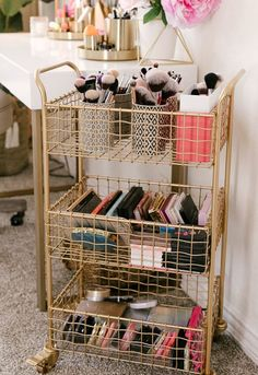 SHOP NOW at Cost Plus World Market: Small Space Living. Beauty influencer Jessic… SHOP NOW at Cost Plus World Market: Small Space Living. Beauty influencer Jessica Vu shows us how she styled her. Cute Room Decor, Cute Room Ideas, Small Room Decor, Aesthetic Room Decor, Small Space Living, Small Teen Room, Small Spaces, Small Space Bedroom, Small Apartments