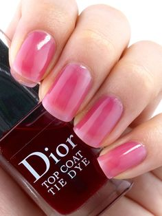Dior Summer 2015 Tie Dye Collection Nail Polish: Review and Swatches