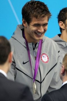 Nathan Adrian from the US Swimming team