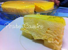 Prato Caseiro: Pudim frio de ananás