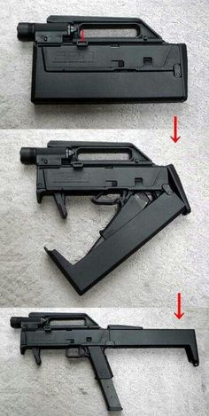 Magpul FMG9 folding machine pistol