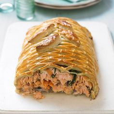 For a hearty Saturday supper with friends why not serve up our salmon en croute recipe? With only 5 ingredients, you won't be stuck in the kitchen all day!