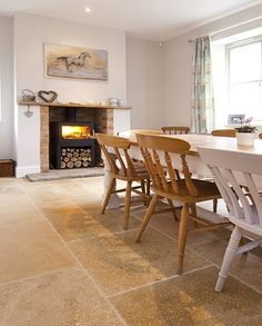 Buy Shire Aged products from our Flagstone Tiles range at Indigenous. Interior Trend, Flagstone Flooring, Grand Designs Live, Ideal Home Show, Nordic Interior, Limestone Flooring, Flooring, Flagstone Tile, Flagstone