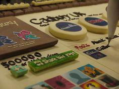 An edible Google+ page? Why, yes! http://candyaddict.com/blog/2012/03/21/google-cadbury-sweet-edible-technology/