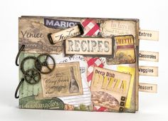 Honey chic recipe book at joann recipe bookcards diy food lovers recipe book from the creative studio forumfinder Choice Image