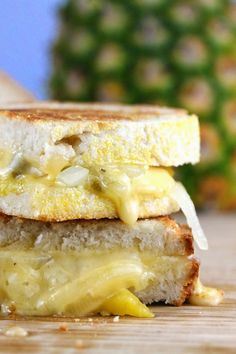 Caramelized Pineapple Grilled Cheese | The Stay At Home Chef