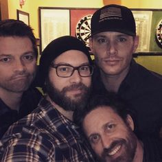 "Jensen Ackles (@jensenackles) on Instagram: ""Playing Darts!  In Nashville!  It's getting tense!"""