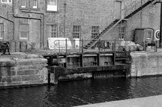 Edinburgh, Leith Docks, East Old Dock, Rennie's Entrance, Lock And Swing Bridge   ScotlandsPlaces