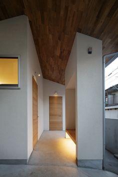 玄関ポーチ(戸手本町の家 ー リノベーション)- アウトドア事例