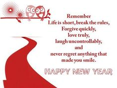 cute happy new year love quotes 2017