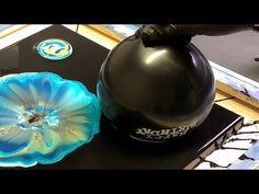 Acrylic Pouring WATER BALLOON Technique!! Fluid Painting Wigglz Art Must See!! - YouTube