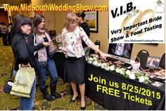 Join us next week for the V.I.B. (Very Important Bride) Show!