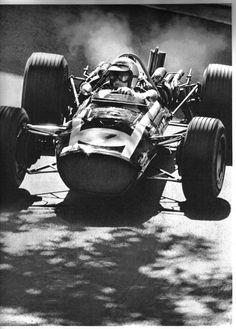 1968 Lucien Bianchi, BRMT86B, BRM Engine
