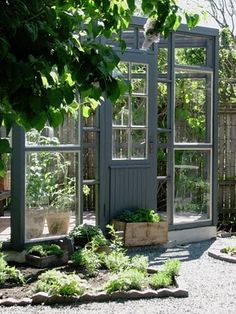 Pretty green house